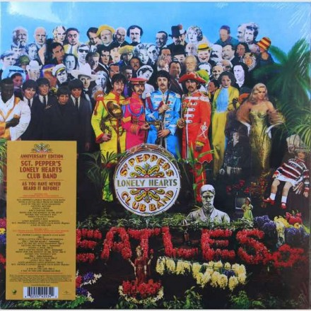 The Beatles - Sgt Pepper 2LP Anniversary Edition