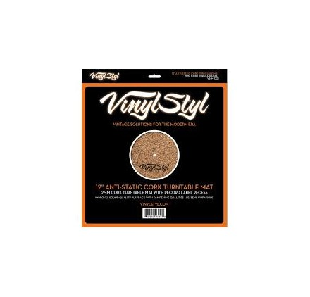 Mat Anti-Static Cork - Vinyl Styl