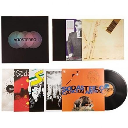 Soda Stereo - Caja Negra (Box Deluxe 7 Lps +Book)