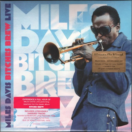 Miles Davis - Bitches Brew Live (2lp) Music on Vinyl