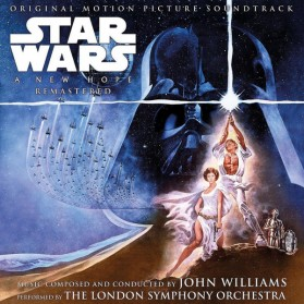 Star Wars A New Hope - Soundtrack remastered (2lp)
