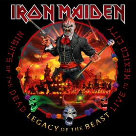 Iron Maiden - Nights of the Dead Live in Mexico (3lp)