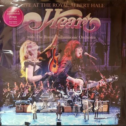Heart - Live at Royal Albert Hall (2lp) Limited Pink Vinyl