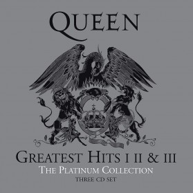 Queen - Greatest Hits 1,2 & 3 The Platinum Collection (3CD)
