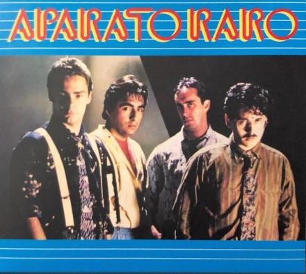 Aparato Raro - Aparato Raro (re 2021) Vinilo color azul